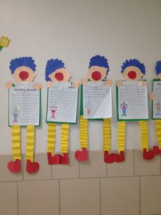ou/ow clowns, adorable!  @tunnell's tidal waves