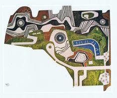 Roberto Burle Marx, plan for Largo da Carioca, Rio De Janero