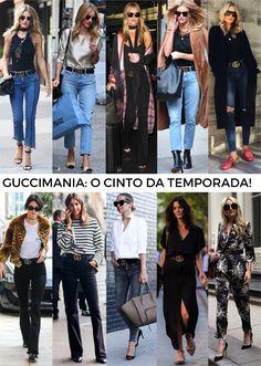 O cinto sensação da Gucci e a cintura marcada em 2017! - Fashionismo