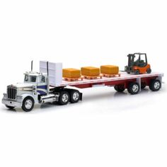 New-Ray Toy 1:32 Die-Cast Hay Bale Truck - Tractor Supply Co.