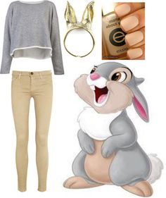 """""""thumper is cute fullstop."""" by jaclynhehe ❤ liked on Polyvore"""
