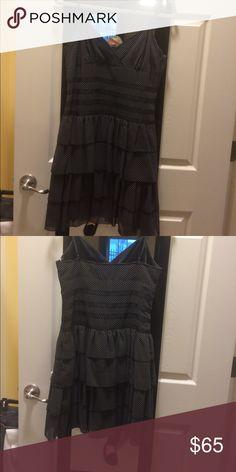 Dress Small polka dot print, very figure flattering dress.. worn once to a summer wedding ABS Allen Schwartz Dresses
