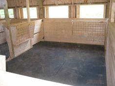 click for some great goat barn ideas Fox Mountain Farm: Barn Building Progress