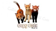 Copy Cats gift series 2 red theme by Calista