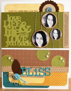 A Project by JenGallacher from our Scrapbooking Gallery originally submitted 11/21/11 at 09:06 AM