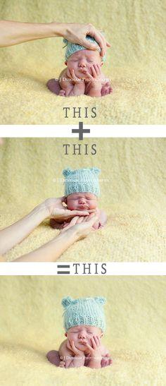 Newborn shots - safety first!