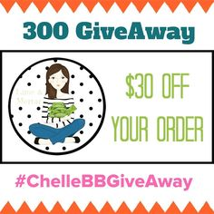 It's finally time! As promised when I hit 300 followers I said I would have a giveaway! I have up for grabs a code for $30AU to my favourite planner sticker store the incredible Leanne over at @limeandmortar you will want to head over and follow her if you don't already! The giveaway is open world wide but the prize is of an Aussie Dollar value   To enter simply; 1. Follow my account 2. Repost this with #ChelleBBGiveAway  3. Tell me what your favourite sticker set is from #limeandmortar…