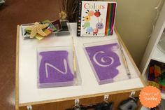 Provocations can be overwhelming. Let's take a look at some simple ideas for literacy provocations found in a Reggio-Inspired Preschool. Writing Center Kindergarten, Emergent Literacy, Literacy And Numeracy, Preschool Writing, Early Literacy, Kindergarten Activities, Preschool Ideas, Alphabet Activities, Reggio Emilia