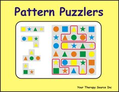 Summary:  Download of 26 pattern puzzlers and 6 pattern puzzler forms to practice visual discrimination skills.  Product Details: E-book Language: English LIST PRICE: $4.99 Shipping:  FREE – once payment is made you will receive an email with a link to download the book.  You will need Adobe Reader to open the book. Summary:  This download is great for …