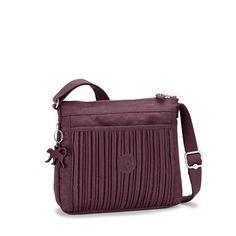 97a35b6db Bolsa transversal plissada roxa MOYELLE Basic Plus: BOLSAS FEMININAS.  Marija Boskov · Kipling bags