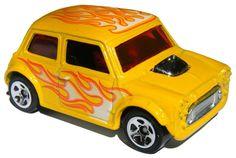 Hot Wheels Heat Fleet Car Morris Mini Battle Force 5 Series 8/10 2009 Mattel #HotWheels #HeatFleet