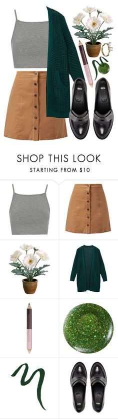 """Watering plants"" by misspamplemousse ❤ liked on Polyvore featuring Topshop, Gerber, NYX, Butter London, Lancôme, ASOS and Mudd"