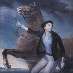 Hakan Cingöz, Deli Göz, 2014, Tuval üzeri yağlıboya, 150 x 150 cm