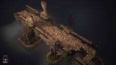 This is a bridge inspired of Diablo 3.  Ref : http://www.diabloii.net/gallery/data/560/medium/Goatmen_on_a_bridge.jpg