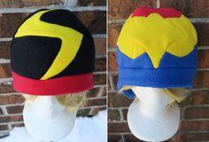 43336db16b3bf Captain Marvel Hat - Fleece Hat Adult