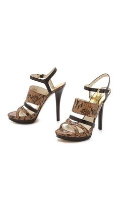 These high heel sandals with light color are very attractive to ladies for parties and functions. The color is much suitable for ladies. Very nice and attractive look. Smooth and comfortable and light weight. Easy to walk with these sandals.