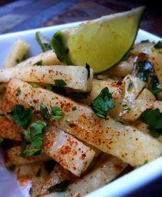 Jen's Gone Paleo: Jicama Salad w/Cilantro-Lime Vinaigrette