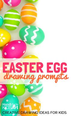 Easter Egg Creative Drawing Ideas for Kids