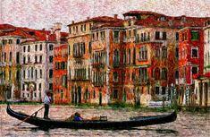 Venice Gondola Venice, Artwork, Work Of Art, Auguste Rodin Artwork, Venice Italy, Artworks, Illustrators
