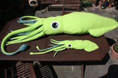 Custom 8Foot Giant Squid Plush / Pillow by Cephalopodo on Etsy, £80.00