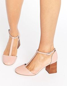 ASOS ONE WISH T-Bar Heels #promoted