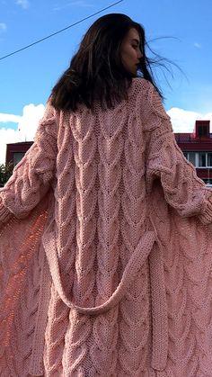 Crochet Coat, Knitted Coat, Crochet Blouse, Crochet Clothes, Baby Cardigan Knitting Pattern, Baby Hats Knitting, Baby Knitting Patterns, Cardigan Fashion, Knit Fashion