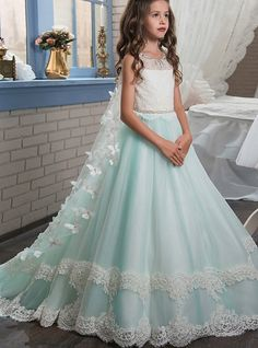 Flower Girl Dresses New Princess Puffy Ball Gown Pageant Dresses For Little Girls Glitz Double Lace Hem Long Kids Puffy Prom Dresses With Butterfly Cape . Puffy Prom Dresses, Girls Pageant Dresses, Ball Gown Dresses, Pageant Gowns, Pagent Dresses For Kids, Pretty Dresses For Kids, Bridesmaid Dresses, Princess Dresses, Homecoming Dresses