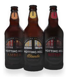 London Microbrewery   Notting Hill Real Ale   Moncada Brewery