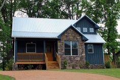 Country Style House Plan - 3 Beds 2.5 Baths 1814 Sq/Ft Plan #932-2 Exterior…