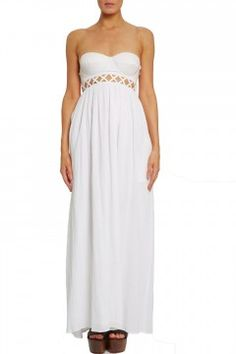 Strapless Mara Hoffman dress