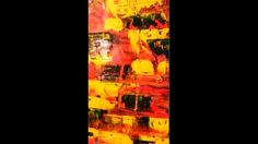 """ MY! YEREVAN - Kond ""  expressionist  . Sarkis Yerevanci ( Sergey Gevor..."