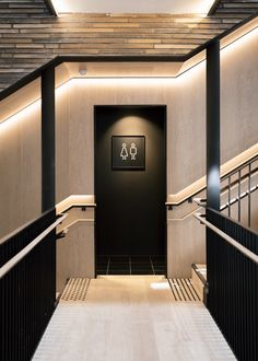 Wayfinding, Signage and Identity. Directional Signage, Wayfinding Signs, Toilet Signage, Paper Cup Design, Washroom Design, Take The Stairs, Space Architecture, Cafe Design, Commercial Design