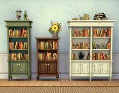 """Mod The Sims - """"Caress"""" Bookcases"""