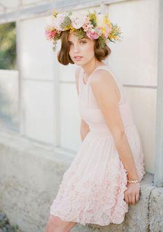 Le Sucre Ruffle Detail Dress | Modern Vintage Bridesmaid Dresses | Modern Vintage Bridal