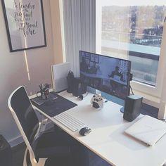 """5,608 Me gusta, 16 comentarios - Design Your Workspace (@designyourworkspace) en Instagram: """"View Scape via @thefuturishere  #designyourworkspace ~  FREE Workspace Design Guide in Bio…"""""""