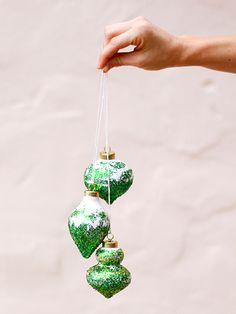 DIY Glitter Ombre Ornament - iVillage