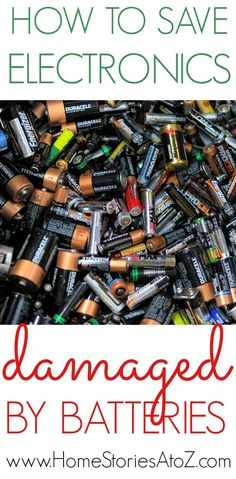 Don't throw your electronic device out! Try this method on How to Save Electronics Damaged by Batteries to restore damaged electronics and get them working again.