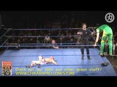 CHIKARA: Green Ant vs. Pinkie Sanchez (Pink Ant) [PCAGG 261]