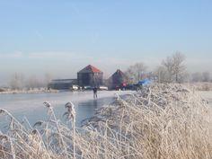 's Winters fijn schaatsen vanuit Hotel de Boerenkamer Hoeve Meerzicht.