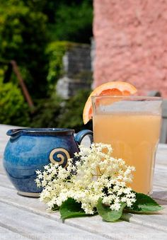 Elderflower and Grapefruit Lemonade