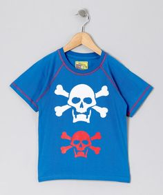Take a look at this CRugged Navy Skull Tee - Infant, Toddler & Boys by CRugged on #zulily today!