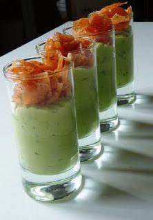 Blog de recettes Weight Watchers Propoint... Ou pas!: Crème d'avocat au saumon fumé                                                                                                                                                      Plus