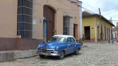 #Oldtimer in #Trinidad #Kuba