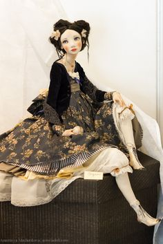 Asteria Art - Bal du Printemps. Salon International des poupées sur Vetoshny.