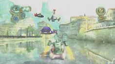 Hovercraft in town, Beyond Good and Evil http://picture-virtualworld.blogspot.it/2013/12/hovercraft-in-town.html