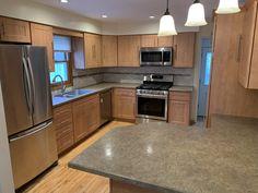Kitchen Tune-Up Grand Rapids MI - Refacing Refacing Kitchen Cabinets, Cabinet Refacing, Cabinet Boxes, New Cabinet, Countertop Options, Countertops, Kitchen And Bath, New Kitchen, Kitchen Prices