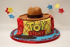 Toy Story Birthday Cake for the Birthday Boy