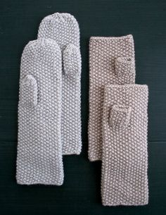 How-To: Seed StitchMittens