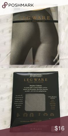 NWT Fredericks of Hollywood Leg Wear Collection NWT Frederick's of Hollywood leg wear collection fishnet.  These were given to me as a gift for my bridal shower but never used or taken out of original packaging.   ✅ Bundle & Save ✅ Open to offers 🚫 No lowball offers 🚫 No trades Frederick's of Hollywood Accessories Hosiery & Socks