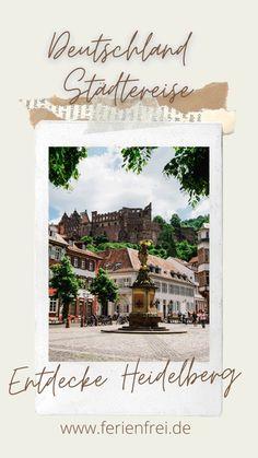 Spring Photography, Germany, Heidelberg, Travel Report, Travel Advice, City, Destinations, Deutsch